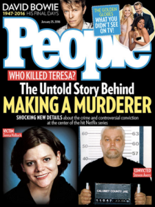 Standard crime cover by People Magazine.