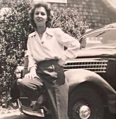 Vintage hottie, circa 1940.