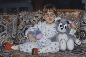 I would only have bangs and shoulder length hair once in my life, circa 1996.