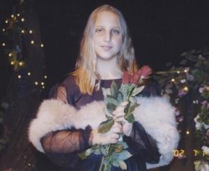 Hippie Hair, circa 2003.