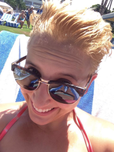 Hawaii blonde, September 2014.