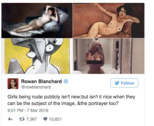 Rowan Blanchard sounds off.