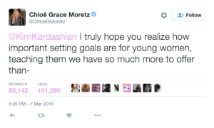 Chloe Grace Moretz sees a bigger issue.