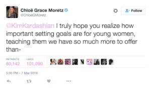 Chloe Grace Moretz sees a bigger issue.